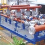 Natural Gas Metering Skid With Analyzer House